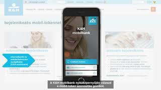 belépés a K&H e-bankba mobil-tokennel