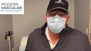 Video Testimonial for Modern Vascular in Fort Worth, Texas