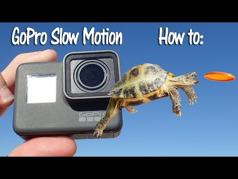 How to Apply Slow Motion to your GoPro Videos