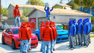 Bloods vs Crips Day In The Life -  gta 5