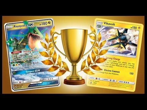 Pokemon TCG Online Tournament and Pack Opening – Vika Ray
