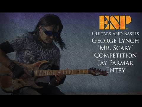 ESP GEORGE LYNCH 'MR  SCARY' CONTEST - JAY PARMAR ENTRY
