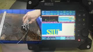 Έλεγχος με Συσκευή Υπερήχων SyncScan 2 32128 PR PAUT και DLA Probe