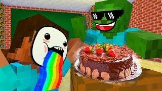 Monster School : COOKING CHALLENGE 2 - Minecraft Animation