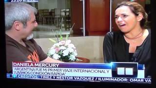 Daniela Mercury en Agenda Nacional 08/03 Parte II