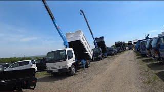 Японская спец техника, АВТОРЫНОК, грузовики в наличии, 2020, ЦЕНЫ ВИДЕО, её всё МЕНЬШЕ И МЕНЬШЕ