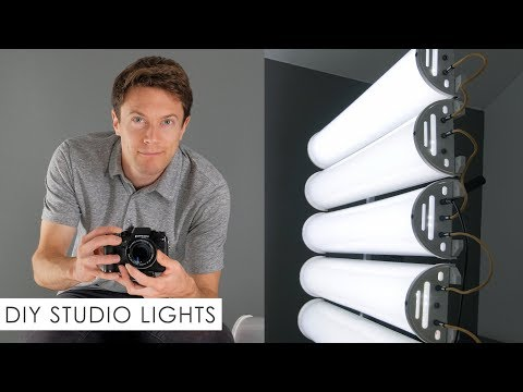 "DIY Homemade ""YouTube Studio"" Lights – Build Your Own!"