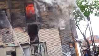 preview picture of video 'incendio en la mañana del domingo en la boca'