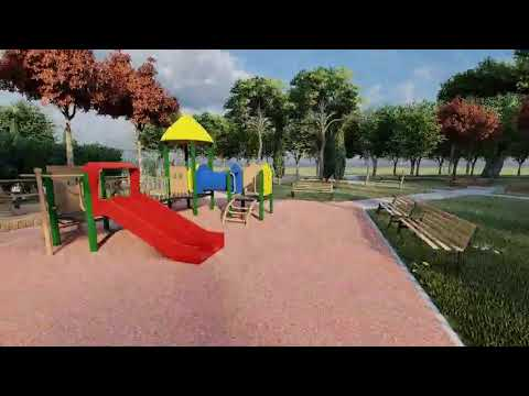 Budući izgled dječjeg igrališta u Podgorici