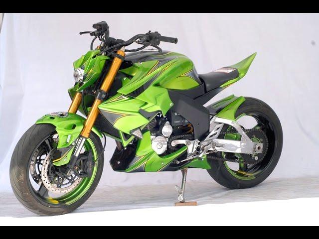 Video Honda Tiger Mega Pro Modifikasi Extreme Ala Street Fighter