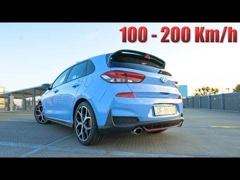 """Hyundai i30N """"Nicht Performance"""" 250PS - Beschleunigung 100-200 Km/h -"""