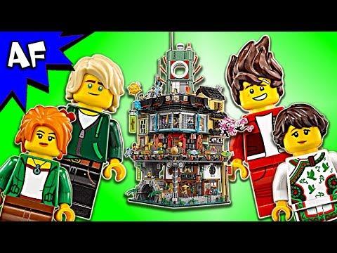 Vidéo LEGO Ninjago 70620 : La ville Ninjago