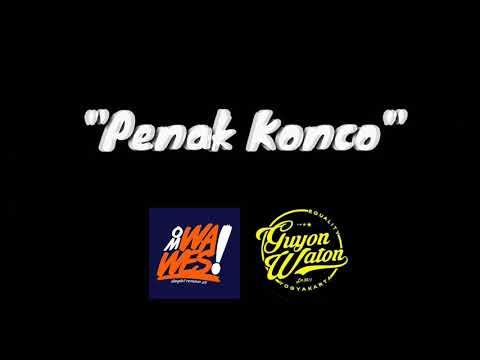 , title : 'Penak Konco - OmWawesXGuyonWaton (Lirik)'