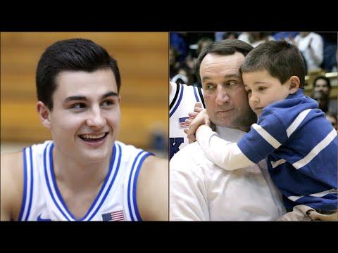 Duke's Coach K talks about coaching his grandson