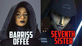 Is Jedi Barriss Offee the SEVENTH SISTER?