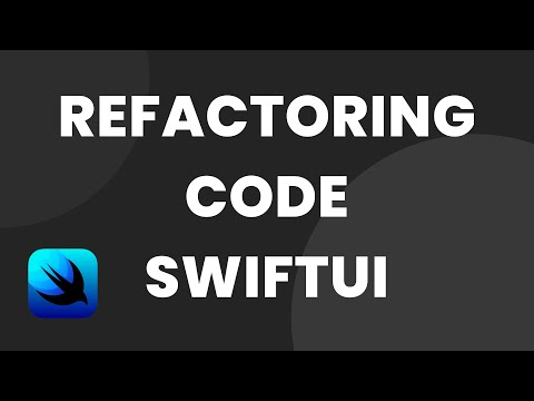 Refactoring code in SwiftUI (SwiftUI Tutorial, SwiftUI Onboarding, SwiftUI) thumbnail