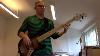 Donny Hathaway - What's Goin' On (live) - Bass Cover