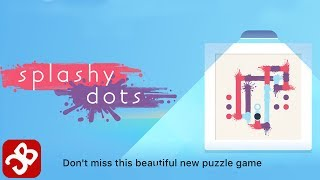 Splashy Dots - iOS/Android Gameplay Video by Crimson Pine Games