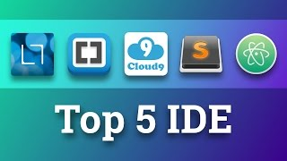 Top 5 free IDE of 2016