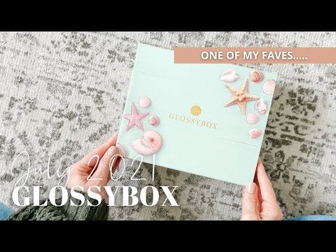 GLOSSYBOX Unboxing July 2021