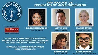 GMS Podcast 09: Economics of Music Supervision