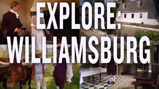 Exploring Williamsburg, VA: Colonial Williamsburg (P. Allen Smith)