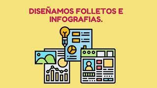infografías y folletos creativos y profesionales