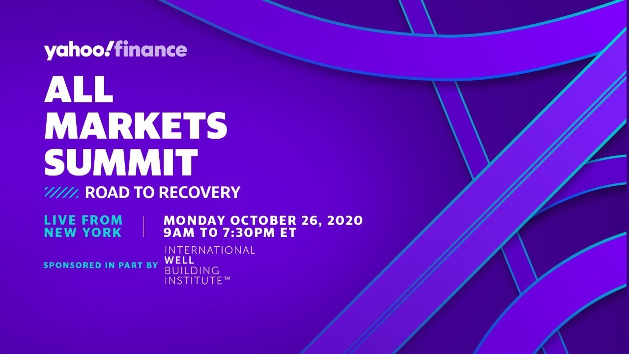 Yahoo Financing All Markets Top: Roadway to Healing Join us on October 26, 2020 at 9:00 am ET thumbnail