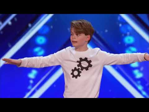 12 YEAR OLD DANCES TO LIL PUMP MOLLY ON AMERICA'S GOT TALENT!