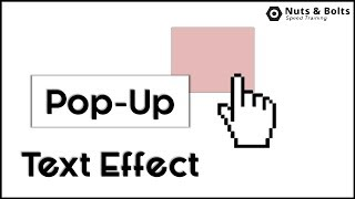 How To Display Pop-Up Text In PowerPoint By Hovering Your Mouse Over an Object