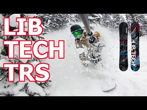 Lib Tech TRS Snowboard Review – Keystone Tree Riding