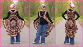 Crochet Tutorial: Spring Sun Mandala Vest