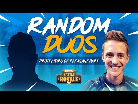 Random Duos - Protectors Of Pleasant Park! - Fortnite Battle Royale Gameplay - Ninja