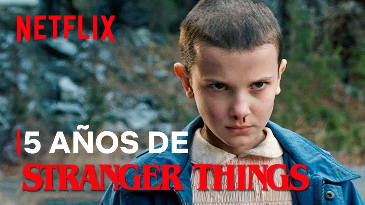 Stranger Things cumple 5 años | Netflix