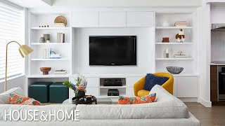A Condo Makeover With Savvy Storage Solutions