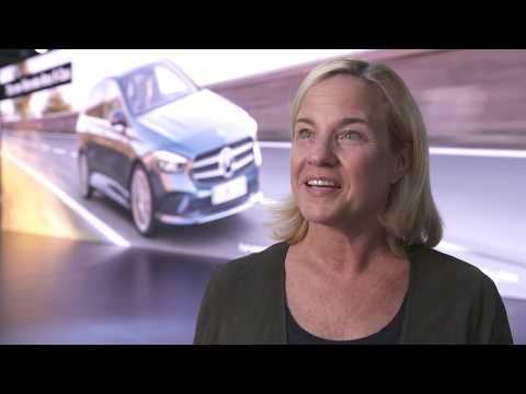 Weltpremiere der neuen Mercedes-Benz B-Klasse - Britta Seeger