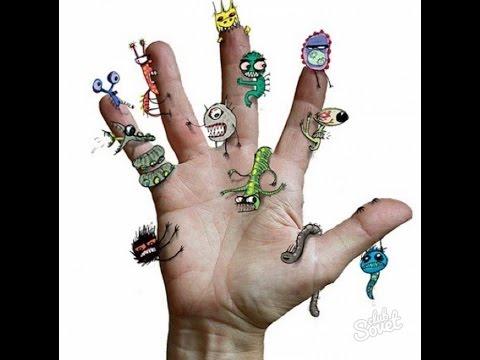 Насекомые и черви паразиты