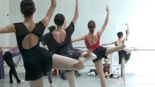 Dance Class With The Bolshoi Ballet