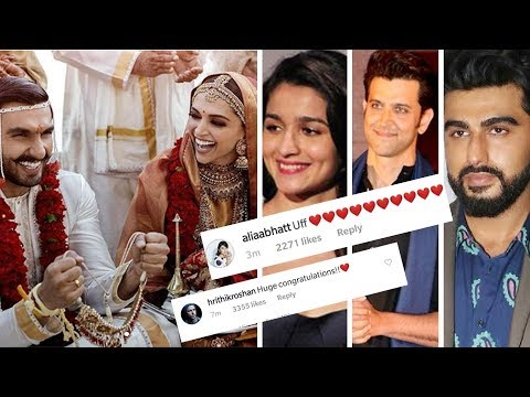 Bollywood Celebs REACT On Deepika Ranveer First We