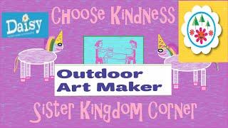 Girl Scout Daisy Outdoor Art Maker Badge