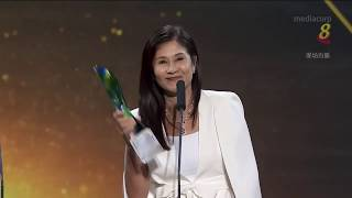 Star Awards 2019 - Lim Mei Jiao wins Best Supporting Actress!