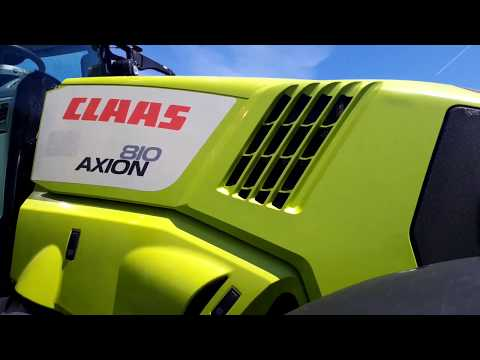 Tracteur CLAAS AXION 810 CMATIC N° 136247 (2016)