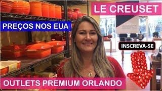 LE CREUSET Orlando Premium Outlets Com Preços No Viajar Muda Tudo!