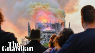 Notre Dame Fire: Paris Mourns As Emmanuel Macron Commits To Rebuilding The Famous Cathedral