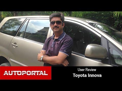 Toyota Innova User Review 'true value for money' - Autoportal
