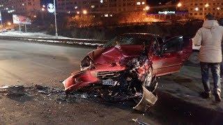 ДТП 2019 , Подборка аварии за январь  . 😲 Дорожная реальность.  Видеорегистратор всё видит # 79