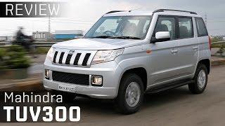 Mahindra TUV300 :: Review Video :: ZigWheels