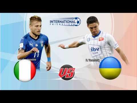 Italia Vs Ukraina  UEFA Nations League 2018