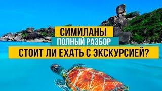 Пхукет. Симиланы. Самая популярная экскурсия на Пхукете. Стоит ли ехать на Симиланские острова?