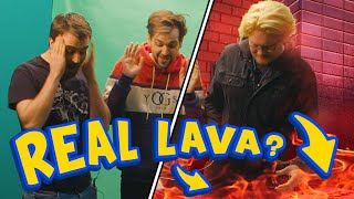 PLAYING HOT LAVA IN ACTUAL LAVA #ad